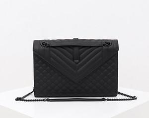 Женщины роскошный дизайнер натуральная кожа цепи Crossbody сумка сумки известный круг дизайнер кошелек высокое качество большой размер 31 см