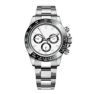 3A + reloj de alta calidad, espejo de zafiro, movimiento mecánico automático, de moda impermeable del reloj de los hombres