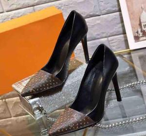 Kadın Topuklar ayakkabı kutusu Eu ile Sivri Ayak parmakları Ayakkabı Yüksek Kalite Gerçek Deri ayakkabı Sandals Terlik Casual ayakkabılar: 35-42 shoe02 05 tarafından