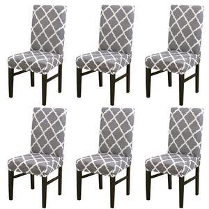 Elastic-Stuhl-Abdeckung Stretchy Removable Slipcovers Moderne Wohnkultur Partei-Bankett-Sitz Hüllen Dining Chair Sitzbezüge
