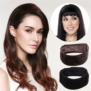 12PCS / lot Grip parrucca Velvet Donne Moda archetto regolabile Comfort Caposcuola fascia dei capelli Yoga Sport Fascetta fascia