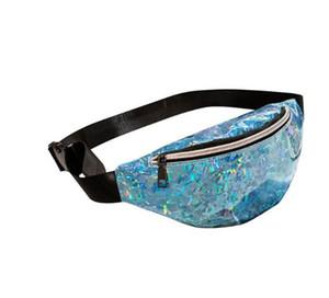 Fashion Neutral Laser Beach Bag Messenger Cross Body Bag Chest Bag feminina