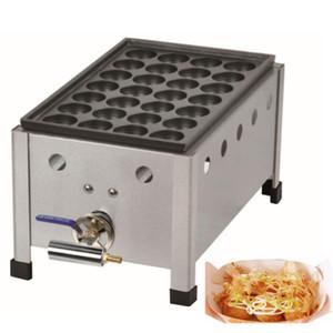 Ticari Takoyaki Maker Balık Ball Izgara Ahtapot Küçük Köfte Makinesi Yapışmaz Gaz Takoyaki Maker Takoyaki Pan