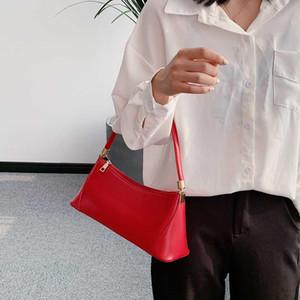 Designer-Mode Grils Nische Design Retro Achseltasche Temperament Weibliche Hand Schulter-Schulter-Pendler-Handtasche Baguette Taschen # T1G