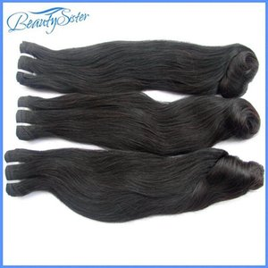 Super double drawn brazilian human hair bundles straight loose style 3 pieces 300g lot unprocessed natural 10a cuticle aligned virgin hair