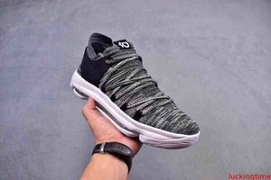 Kevin Durant X VII EP KD7 scarpe da basket, umidita 10 X Elite Arcobaleno Oreo Black Gold scarpe da tennis