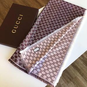Fular Cashmere Blend hombre y la mujerAnillo Cuello diseñador mantón de la bufanda de la bufanda larga de la manera Calidad Alta 140x140cm