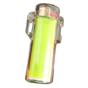 Outdoor Waterproof Plastic Transparent Lighter Case for BIC j3