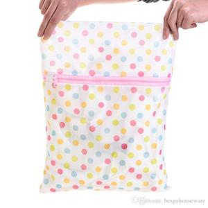 Yıkama Bakımı Çamaşırhane Çanta 30 * 40CM Baskı Çamaşır Çanta Elbise Çamaşır Makinesi Çamaşır Sütyen İç Mesh Net Yıkama Çanta Kılıf Sepeti M.Ö. BH0962