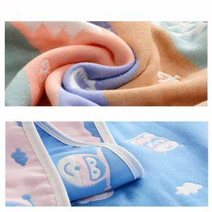 Garza molle rapidi hydroscopicity bambino asciugamani Coperta neonato dorme copripiumino Newborn Swaddle Bebe Wraps