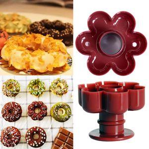 Plastique Poids léger beignes Distributeur Frire Donut moule rapide et facile Portable arabe Waffle Donut outil gâteau cuisson Gadget