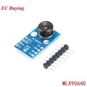 Freeshipping MLX90640 Kameramodul IR 32 * 24 GY-MCU90640 Infrarot Thermometrische Matrix-Sensor 32x24 Sensormodul MLX90640BAA