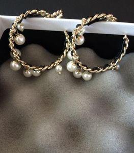 Большие круглые серьги! Мода Drop Серьги Ареет Ореккини Для Женщин Вечеринка Свадебные Вовлечения Любители Подарочные Ювелирные Изделия с Фланельной сумкой