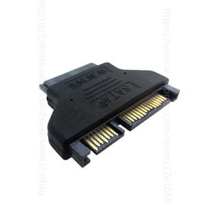 100 unids SATA 22PIN a 16pin Micro Sata Adapter 7 + 15 Serial ATA Male a 7 + 9 Adaptadores femeninos Convertidor de conectores
