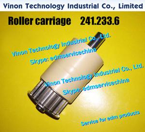 241.233.6 Rodillo de rodillos de Ø30mm edm 247.703.2, 247.703, 241.233 d = 30mm para Agie AC150HSS-AC370HSS Recogida de cables del rodillo impulsor Recambios de EDM
