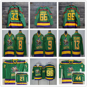 Anaheim Mighty Ducks Movie 21 Dean Portman 33 Greg Goldberg 44 Fulton Reed 66 Gordon Bombay 96 Charlie Conway 99 Adam Banks Jerseys