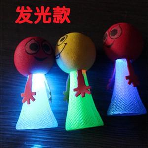 Schlaggeist Kreative Tragbare Lumineszenz Frühling Mann Kinder Geschenk Eine Puppe Spielzeug Jumper Bösewicht Fabrik Direktverkauf 1 07dm3 p1