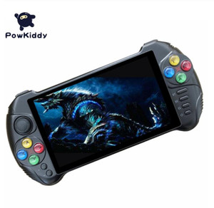 Powkiddy X15 Andriod Handheld Game Console 5.5 INCH 1280*720 Screen quad core 2G RAM 32G ROM Video Handheld Game Player 5pcs