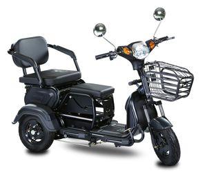 freno de mano del vehículo adultos tres ruedas eléctrica triciclos de carga 6-8h tiempo de triciclos eléctricos