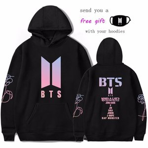 Kpop BTS LOVE YOURSELF Frauen Hoodies Sweatshirts K-Pop Fans Sweatshirt Neues Album DNA Hoodie Sweatshirt Herbst Winter Kleidung