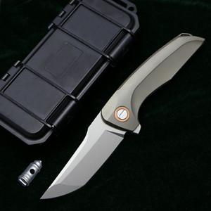 Хоккайдо Флиппер складной нож m390 лезвие Титановая ручка открытый утилита кемпинг охота рыбалка карманные фруктовые ножи тактика EDC инструменты