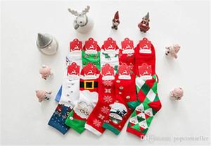 Weihnachten Themed Tierdruck Strümpfe Mode-Frauen-nette Schlauch-Socken Frauen Designer-Socken Damen-Herbst-Winter