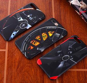 Novo AMG Pneu Caso capa de silicone Macio para o iphone 7 plus 7 plus 8 8 plus 6 6 s além de X XR XS MAX 10 casos de telefone de volante de corrida