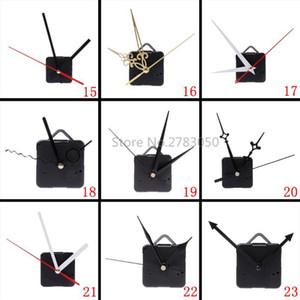 100% nuova marca silenzioso Grande Orologio da parete movimento dell'orologio di quarzo Meccanismo Mani parete Repair Tool Parts Kit set DIY 27 tipi