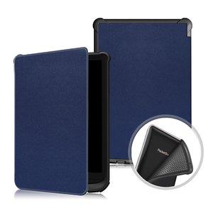 Ultra Slim PU Leder Smart Case Weiche TPU Rückseite für Pocketbook 616 627 632