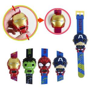 Enfants déformation Avengers montres 2019 nouveaux enfants Superhero film de dessin animé Captain America Iron Man Hulk Regardez jouets