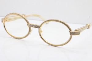2020 Full frame più piccoli Grandi Pietre occhiali UV400 guida Occhiali 7550178 occhiali da sole firmati 18K occhiali Hot Ornamentali