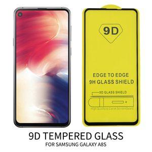 9D en verre trempé pour iPhone 11 Pro XR XS MAX X 7 8 Plus Protecteur bord de l'écran Edge Cover No Paquet