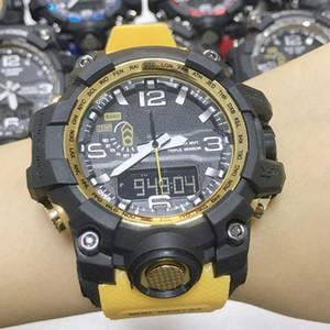 Hot Sale Shock Man Watch Student Будильник циферблат резиновых спортивные часы LED Pointer двойной дисплей Престижная Оптовая цена фабрика с коробкой
