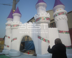 Amusement event decoration inflatable castle tower arch holiday decorations inflatable advertising arch Custom inflatable advertising gate