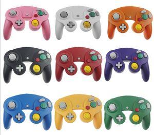 NGC Jogo Wired Controller Gamepad para NGC Gaming Console Gamecube Turbo DualShock Wii U Cabo de Extensão de 10 cores
