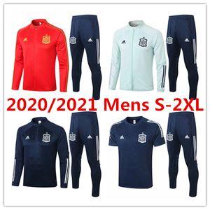 20 21 veste homme Espagne Ramos Asensio maillot de football polo de vêtements Survêtements de formation Costa Rodrigo Kit de football Vázquez Tee Alba