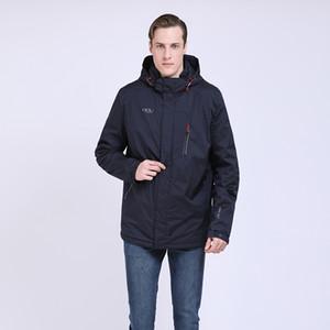 TALIFECK 2019 recém-chegados mais o tamanho M ~ 7XL dos homens À Prova D 'Água Moda Casual Jaquetas Homens Primavera Outono Casaco Casaco Masculino Fino