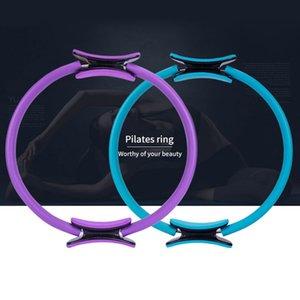 Йога Ring Спорт Обучение Кольцо Фитнесс аксессуары Кинетическая Resistance круг Удобный портативный Yoga Pilates Circle