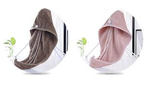 Duschhauben für Magic Quick Dry Hair Mikrofaser Handtuch Trocknen Turban Wrap Hut Caps Spa Badekappen für Kinder und Erwachsene