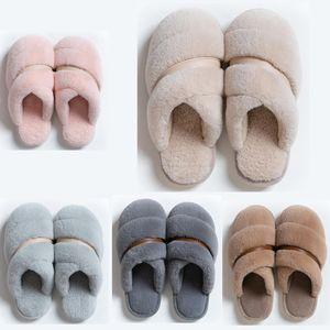 hotsale Nicht-Marke Winter-Frauen Männer Slipper Pelz Flipflopsandelholze Indoor Warmhalte Startseite Schuhe Gummi Flache Sandalen 38-45 Stil 29