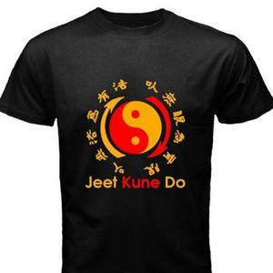 Jeet Kune Do Kung Fu Wing Chun Ip Man Artiste Martial Noir T Shirt S M L Xl Imprimé Hommes T Shirt Vêtements
