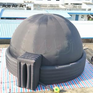 Portable casa educazione astronomica STARLAB gonfiabile, la tenda schermo del proiettore, la cupola del museo con porta cerniera, Planetarium pareti divisorie cupola