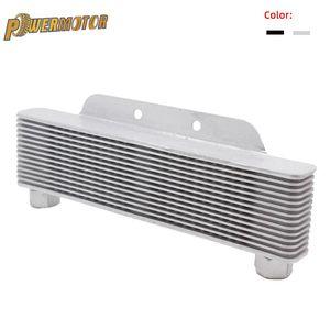 Универсальный передачи двигателя масляный радиатор 238mm 15 строк мотоцикл авто аксессуары для авто двигатель КПП маслоохладитель oliekoeler