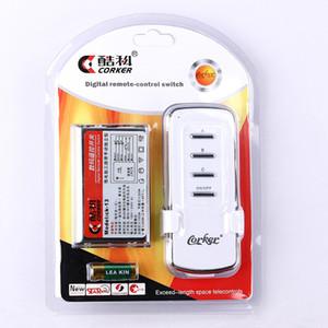 لاسلكي رقمي بعيد مفاتيح تحكم CORKER 220V الإضاءة الذكية عن بعد التبديل 3 طرق البعيد قسم مراقبة التبديل لا 23A 12V البطارية