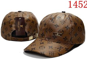 Cappelli di Snapback in pelle di alta qualità 2019 stile estivo ricci casquette papà cappelli per uomo donna hip hop gorras regolabile in sole da baseball berretto da baseball