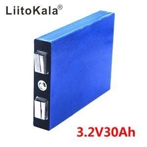 LiitoKala LiFePo4 3.2 V 30AH 5C batteria 3.2 v Al Litio bateria per il FAI DA TE 12 v lifepo4 e-bike e scooter sedia a rotelle AGV auto Golf carrelli
