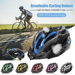 Bisiklet Kaskları Bisiklet Yol Bisikleti Dağ MTB Emniyet Kask Yetişkin Ayarlanabilir Koruyucu Bisiklet Darbeye Siperlik Dağı