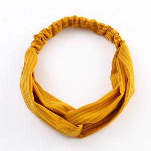 Модное Обучение Йога глава группы Multicolor Вязание Кнопка ободки женщина Маски Hairband Для Сбросьте Ухо Pain 1 8fb E19