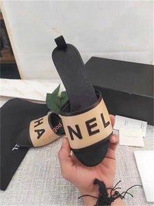 2020 Designer brand Sandals Fashion Women's sandals women Luxury flower printed Tie-dye beach flip flops slipper Xshfbcl