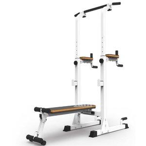 Formation complète horizontale Barres parallèles fitness Barbell Banc Stand presse haltère Tabouret Inetgrated machine de formation